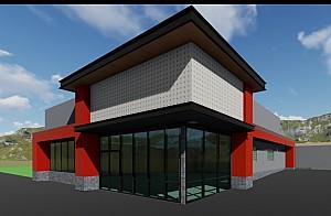 <h2>Under Construction Retail Building</h2>